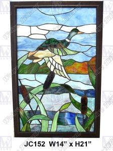 Stained Glass Panel (JC152)