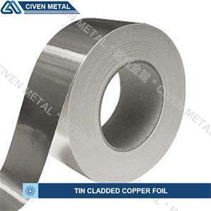Tin-Cladded Copper Foil
