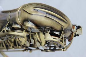 Antique Gold Alto Saxophone (AS-130AB) pictures & photos