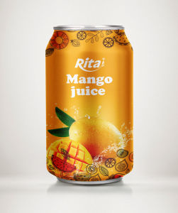 High Quality 330ml Mango Juice Drink pictures & photos