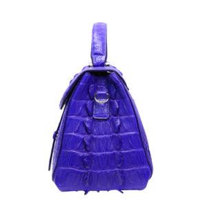 Lady Handbag Genuine Crocodile Exotic Leather Top Handle Tote Bag pictures & photos