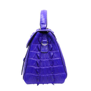 Lady Handbag Genuine Crocodile Leather Top Handle Shoulder Tote Bag pictures & photos