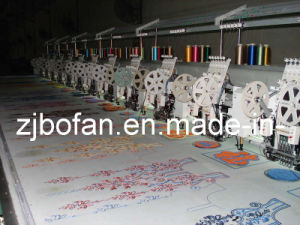 Hot Sale 3 in 1 Computerized Mixed Double Sequin & Towel Flat Embroidery Machine 612 pictures & photos