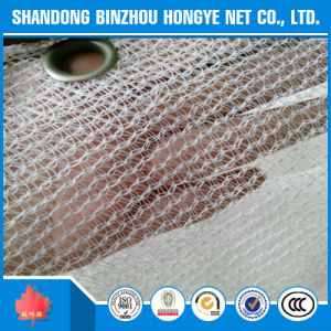 White Color HDPE Sun Shade Net with UV with Eyelets pictures & photos