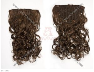 Clip on Hair Extension ((AV-HE021) pictures & photos