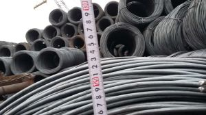 SAE1008 6.5mm 8mm 10mm Non-Alloy Steel Wire Rod From China pictures & photos