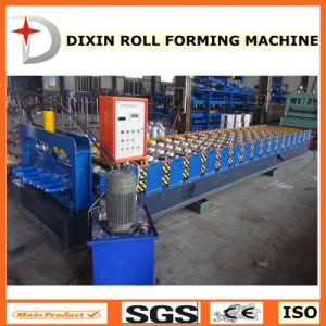Dixin Hot Sale Matel Roof Tile Roll Forming Machine for Africa pictures & photos