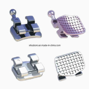 Dental Material Orthodontic MIM Roth Bracket 0.022 with Certificate pictures & photos