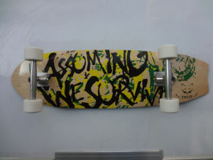33 Inch Wood Skateboard with Alum Truck (LB-119)