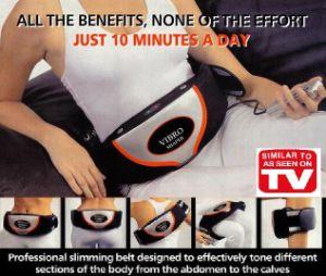 Vibrating Massage Slimming Belt (TD-B08A)