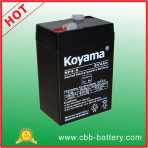 Hot Sell 4ah 6V Weight Scale Lead Acid Battery UPS Battery pictures & photos