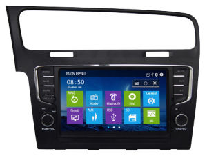Car DVD Player with GPS/WiFi/ 3G Internet/1080P Video Display for Vw Golf 7