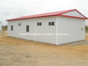 Sandwich Panel Mobile/Prefab/Prefabricated/Modular House for Shop pictures & photos
