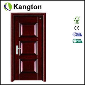Anti Theft Steel Security Doors Designs for Sale (iron door) pictures & photos