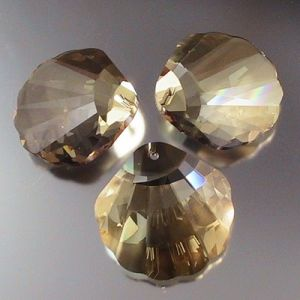 Clear Crystal Seashell -Crystal Jewelry Bead (TL09080339)