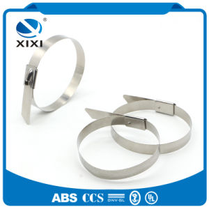 Self Locking Stainless Steel Metal Cable Zip Ties Uncoated pictures & photos