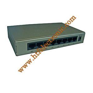 8p 10/100M Desktop Fix Vlan Management Switch with Metal Case (HT-S1008DVR)