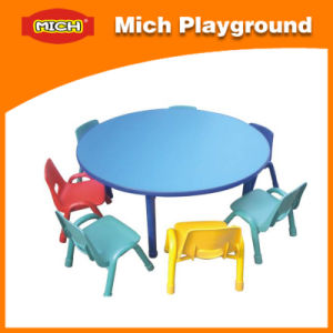 Mich Plastic Round Children Study Table (1211E) pictures & photos