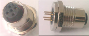 M12 Panel Connector, M12 Connector (IBEST)