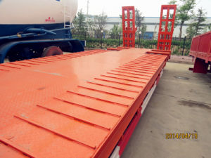 Heavy Machine Transport Lowbed Trailer and Lowboy Semi Trailer pictures & photos