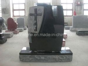 Black Canadian American Tombstone, Headstone (JS-FL-001)