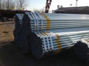 Wholesale Galvanized Steel Pipe for Construction Material pictures & photos