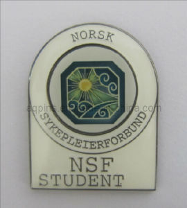 Norsk Metal Emblem with Soft Enamel & Epoxy (badge-068) pictures & photos