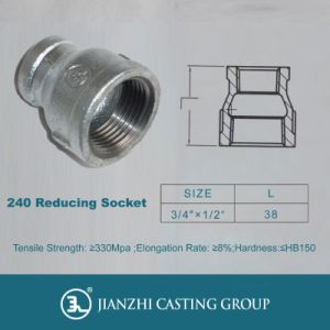 Mallebale Iron Pipe Fitting Banded Socket, Tali Paip pictures & photos