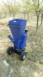 Agricultural Machinery 9HP Wood Chipper Shredder pictures & photos