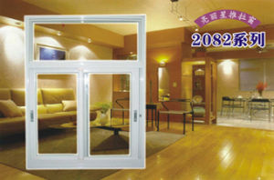 Aluminum Sliding Glass Window with Mosquito Net pictures & photos