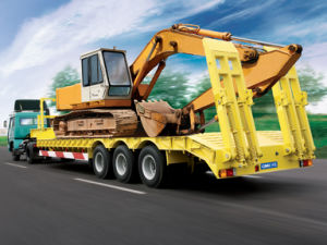 Cimc Low Bed Semi Trailer Truck Chassis pictures & photos