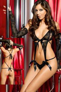 Sexy Lingerie - Lace Teddy