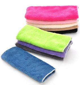 Microfiber Cleaning Cloth/Dust Cloth Car Cleaning Cloth pictures & photos