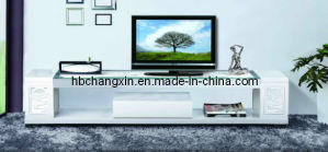 New Modern Design High Quality Wood TV Cabinet pictures & photos