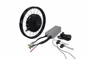 High Speed 48V 1000W Fat Tire Electric Motor Wheel Bike Kit with Battery pictures & photos