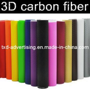3D Carbon Fiber Vinyl, 3D Carbon Fibre Sheet, 3D Carbon Fiber Wrap Sticky Film