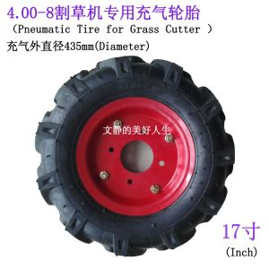 Herringbone Tread Tire 4.00-8 for Grass Cuttor (Tire) pictures & photos