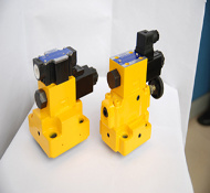 Solenoid Controlled Relief Logic Valves (LB Serices)