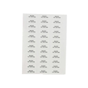 Custom Arrows Serial Alphabet Number Sticker Paper pictures & photos