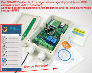 GSM Remote Controller with 2 Alarm Input and 2 Relay Output pictures & photos