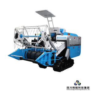 1.5m Cutting Width Medium Combine Harvester (with auto grains discharge)