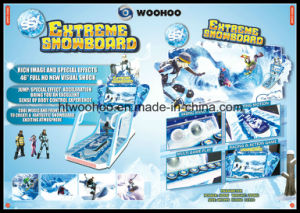 Indoor Playground Snowboard Video Game Coin Operated Machine Simulator pictures & photos