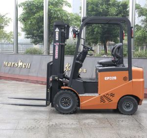 Heavy Duty Equipment 2.0t Electric Counterbalance Forklift Trucks (CPD20E) pictures & photos