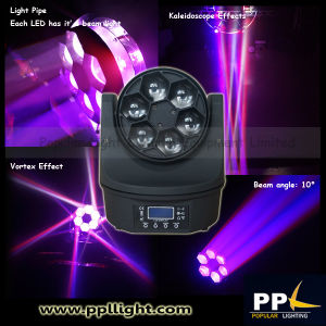 Mini Bee Eye Beam Light 6PCS 15W LED Moving Head pictures & photos