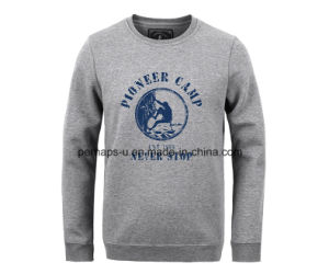 Cool Mens Long Sleeve Fleece Sweater with Print Logo pictures & photos