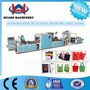 Non Woven Shopping Bag Making Machine/Nonwoven Box Bag Machine/Nonwoven D Cut Bag Making Machine pictures & photos