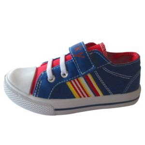 Children Latest New Canvas School Shoes Stylish Casual Shoes Boys/Girls pictures & photos