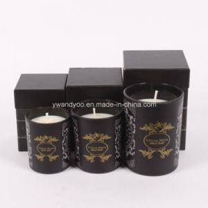 Different Sizes of Scented Soy Wax Glass Candle