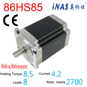1.8 Degree 86mm High Speed Stepper Driver Motor (86HS85)