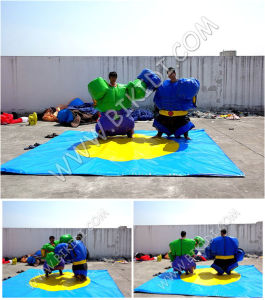 Popular Game Sumo Suit Sport, Inflatable Sport Costume, Inflatable Paddle Sumo Suits B6075 pictures & photos